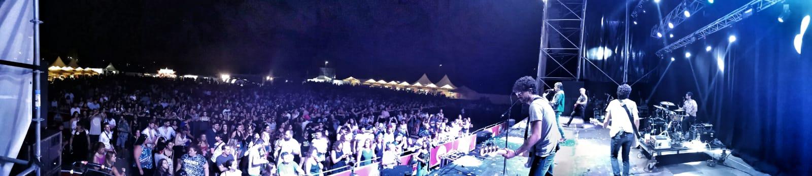 Despistaos en Mediterranea Festival. Imagen by @veritxu