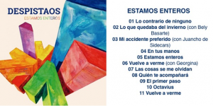 Estamos Enteros Track List